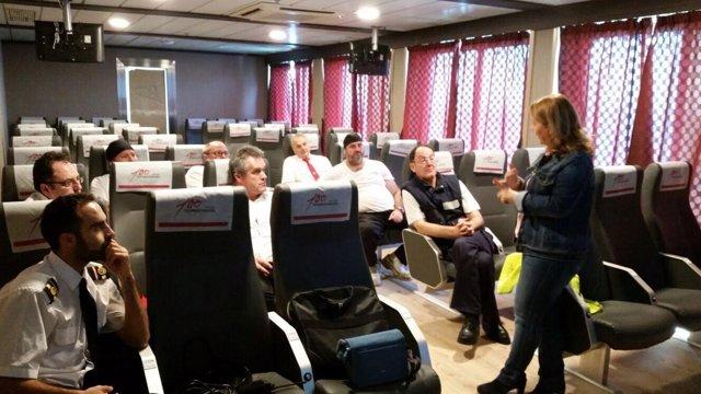 Aceme da formación a personal de Transmediterránea