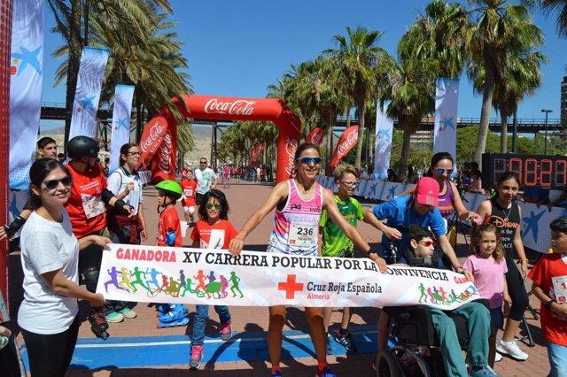 Carrera de la Cruz Roja en Almería