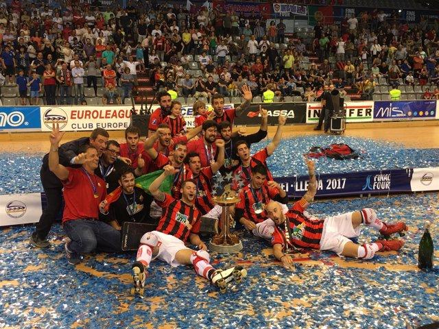 El Reus Deportiu se proclama campeón de Europa