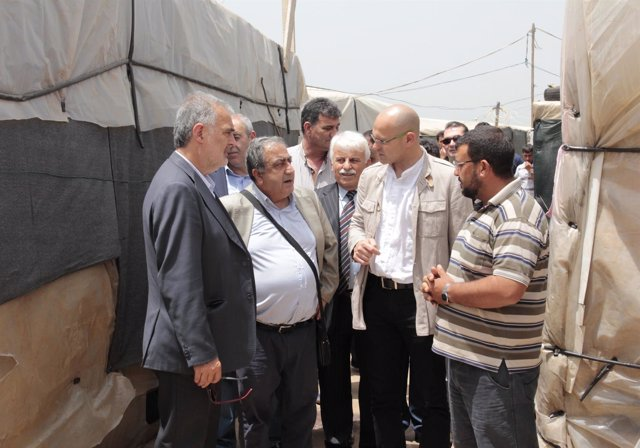 El conseller Raül Romeva en Líbano