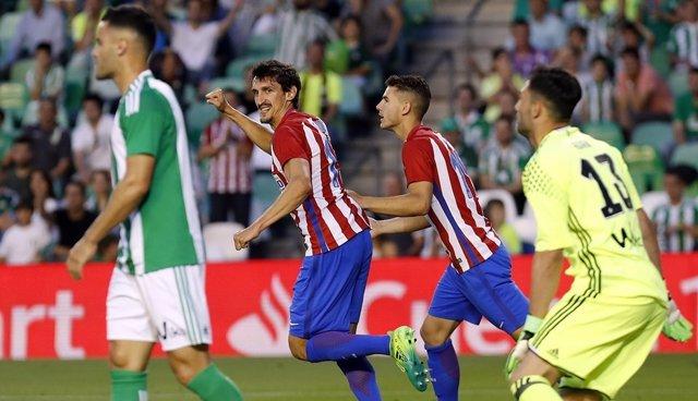 Savic marca en el Betis - Atlético