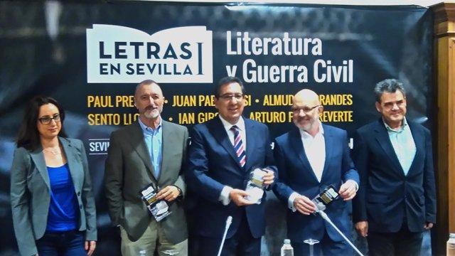 Presentación de 'Letras en Sevilla' de Fundación Cajasol