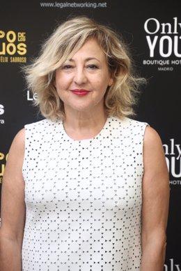 Carmen Machi en la presentación de la película El tiempo de los monstruos