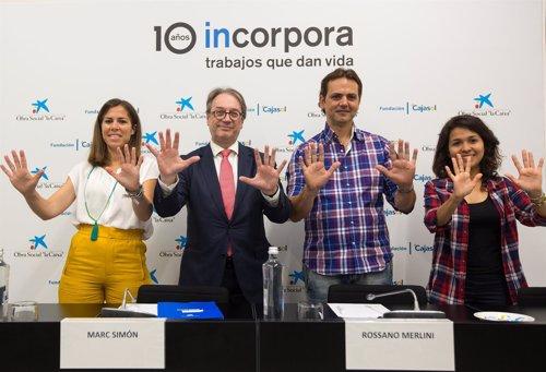 La Caixa y Cajasol facilitan 17.068 empleos a andaluces en riesgo de exclusión