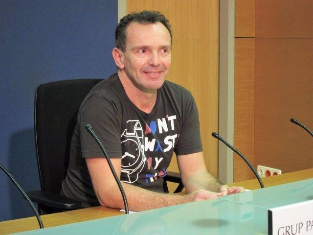 Salvador Aguilera, diputado Podemos Baleares