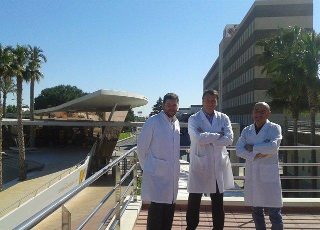 Lucio López, Maxi Serret y Martín Martínez