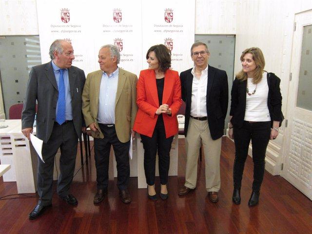 Segova, Lazaro, Santonja, Duñas, Cantero y De Frutos (D)