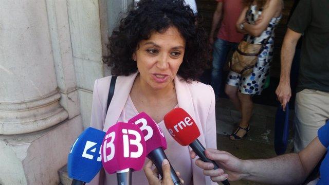 La gerente del Ibavi, Maria Antònia Garcías