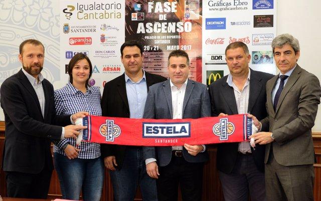 Presentación de la fase de ascenso a la Liga LEB Plata