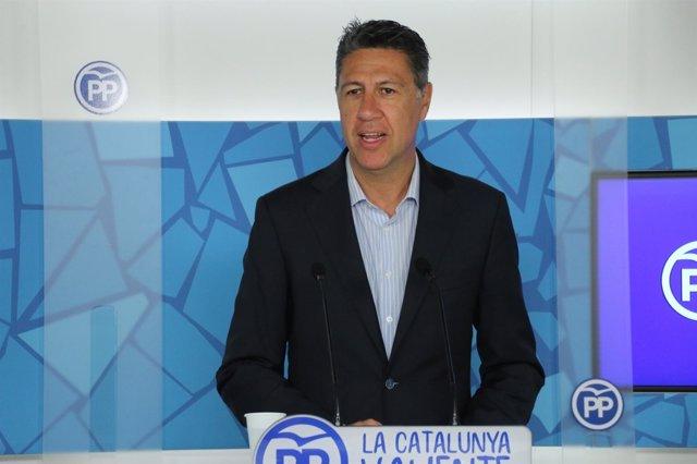 El presidente del PP de Catalunya, Xavier García Albiol