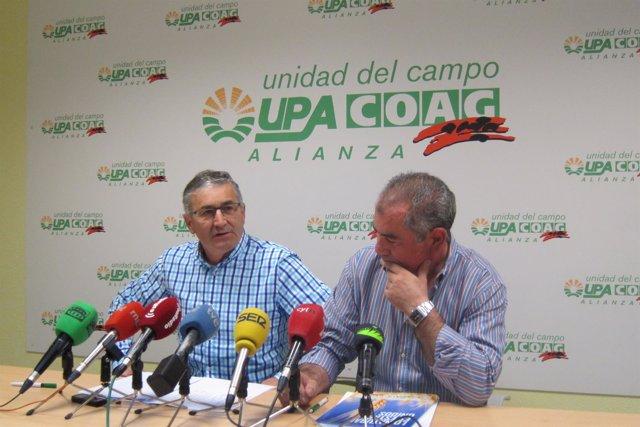 Valladolid. Rivera y González en la presentación de las medidas