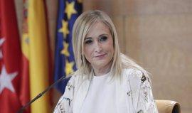 """Cifuentes, ante moción de censura de Podemos: """"Si quieren hacer una performance, que la hagan; yo a lo mío, a gobernar"""""""