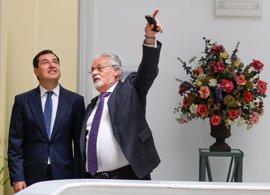 """Moreno: Susana Díaz debate sobre el PSOE """"a 500 kilómetros de Andalucía"""" y """"ajena"""" a sus problemas"""