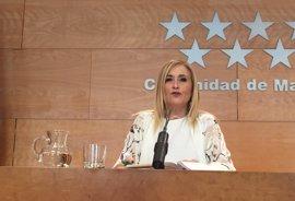"""Cifuentes quiere un PSOE """"que vuelva a ser fuerte"""", la """"única manera"""" de dar estabilidad a España"""