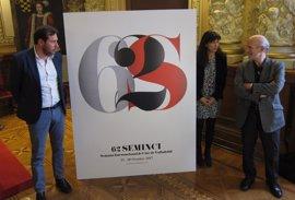 Seminci vuelve a apostar por un cartel con caracteres tipográficos y por el mismo autor que en 2016