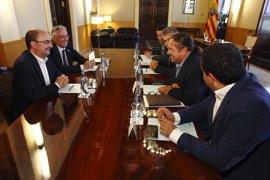 """Sindicatos agrarios piden al Gobierno aragonés un presupuesto """"justo y necesario"""" para el medio rural"""