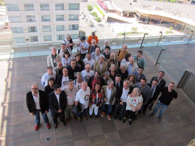 D.Bassa junto a los promotores de la RGC y miembros de la Conselleria