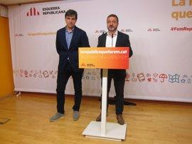 ERC rechaza imitar a Demòcrates y no apoyará a Colau a cambio del referéndum unilateral