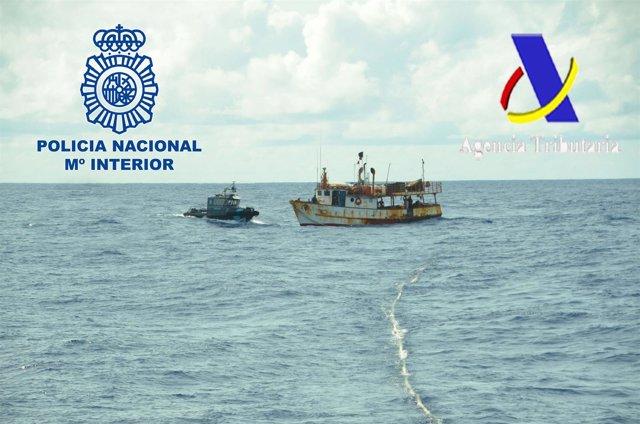 """Nota De Prensa: """"Interceptada Una Embarcación De Bandera Venezolana Con Cerca De"""