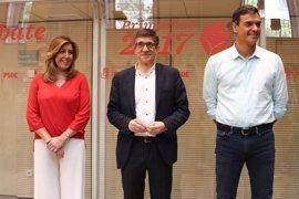 """""""No mientas cariño"""", el reproche de Susana Díaz a Pedro Sánchez"""