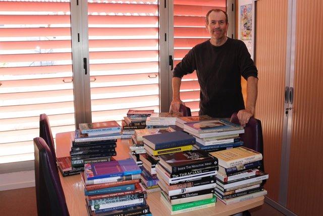Cesión libros museo de Nerja