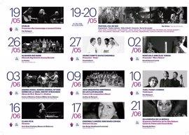 'Palma de primavera' aglutinará 18 actuaciones gratuitas del 19 de mayo al 21 de junio