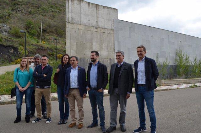 León: Tudanca con Parlamentarios nacionales