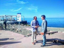 Ciudadanos presenta una enmienda a los PGE para elevar la inversión de los Baños del Carmen hasta los 800.000 euros