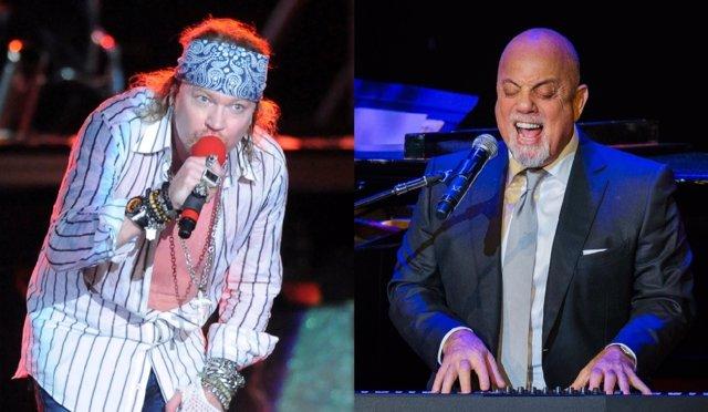 Axl Rose y Billy Joel