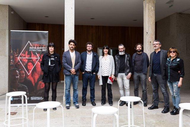 Presentación del Festival do Noroeste en A Coruña