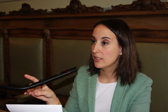 Pilar Vicente, portavoz de Cs en el Ayuntamiento de Valladolid.