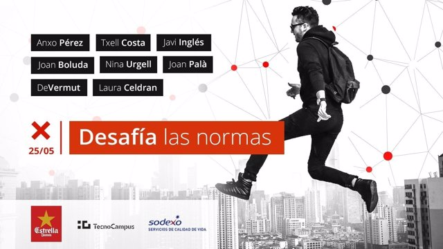 II edición del TEDxUPFMataró 'Desafía las normas'