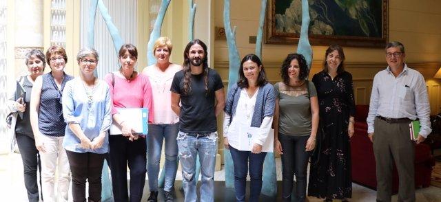 Baltasar Picornell se reúne con entidades por la inclusión social y educativa