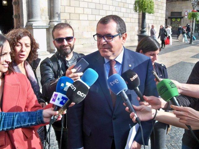 El conseller de Interior de la Generalitat, Jordi Jané (ARCHIVO)