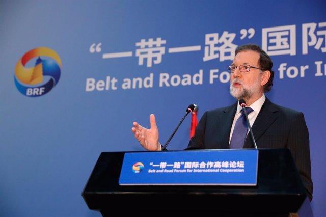 Rajoy en el Foro Nueva Ruta de la Seda en Pekín (China)