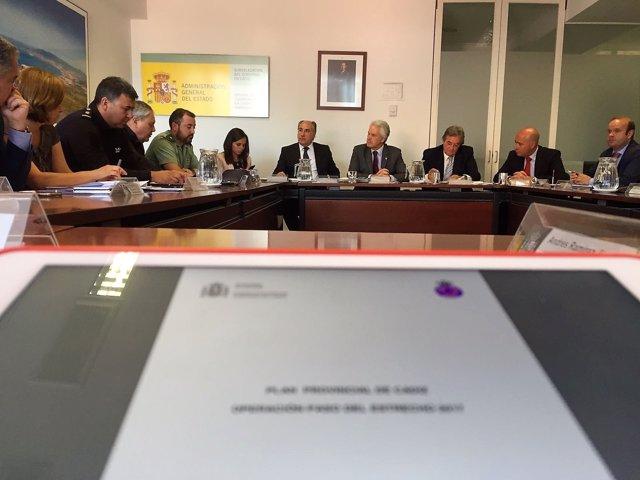Reunión de la Comisión Provincial de la OPE