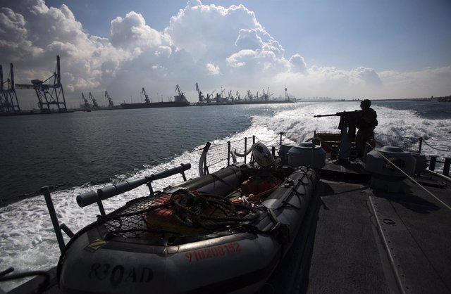 Patrulla de la Marina israelí