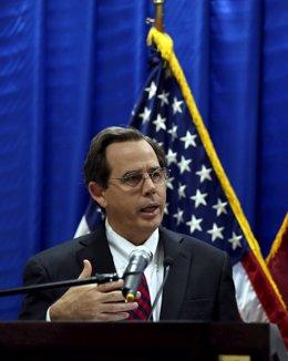 El subsecretario de Estado para Oriente Próximo de EEUU, Stuart Jones