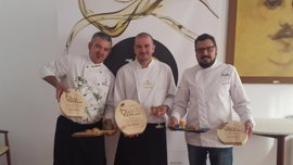 Ricardo Rossi gana la quinta edición del concurso Oleotapa con un tataki de ternera