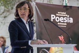Rosa Aguilar inaugura la decimocuarta edición del Festival Internacional de Poesía de Granada