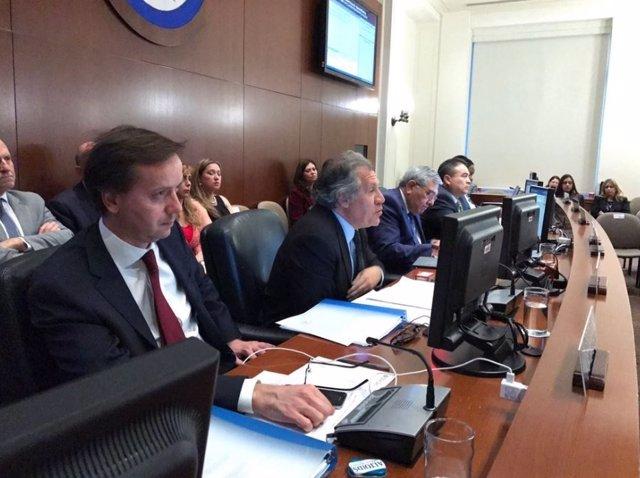Sesión Consejo Permanente OEA sobre Venezuela