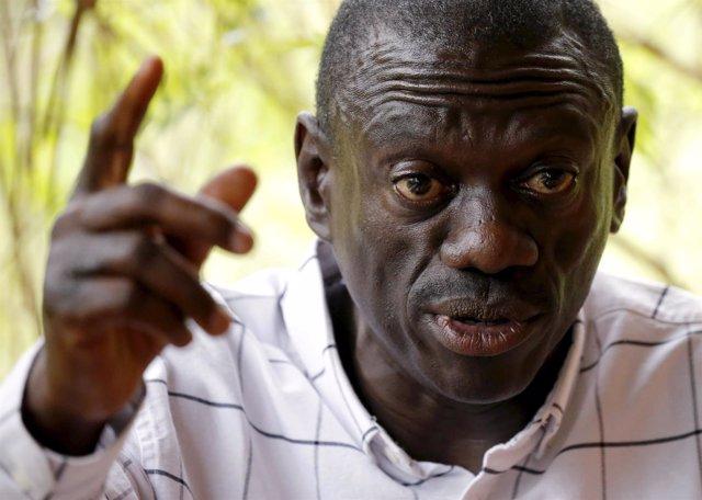 Kizza Besigye, líder opositor ugandés