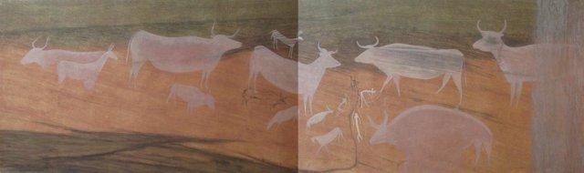 El Museo de Teruel organiza una exposición sobre arte rupestre