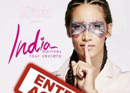 India Martínez agota las entradas para su concierto en el Teatro Romano de Mérida del 1 de septiembre
