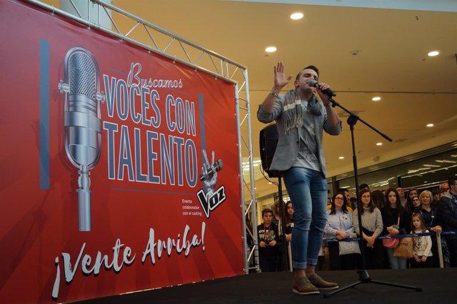Valladolid. Un Momento De 'Gana Con Tu Voz'