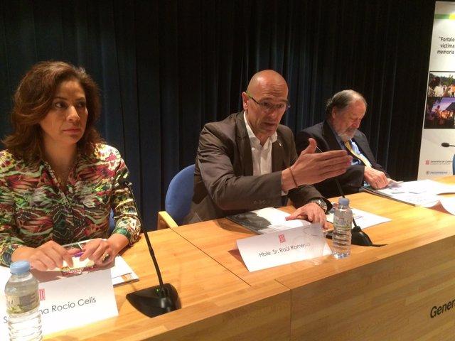 R.Romeva, Diana Rocía Celis Mora y Francisco Altschul
