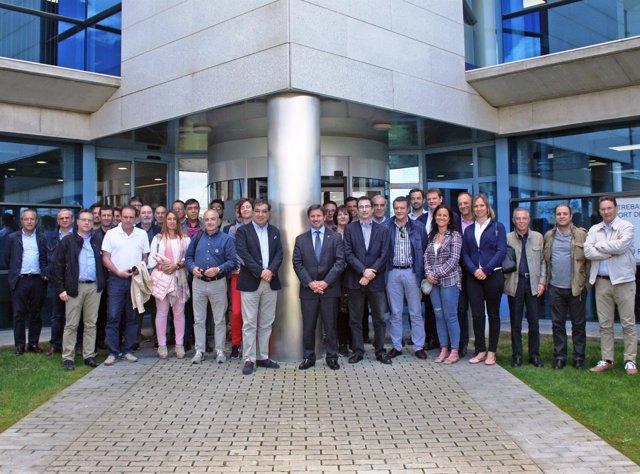 Asociación de Empresas de Servicios de Tarragona visita el Puerto de Tarragona