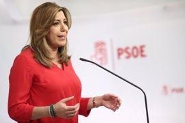 Susana Díaz visita Valencia este jueves en un acto de campaña