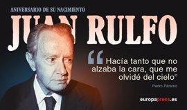 100 años de Juan Rulfo: 10 frases inolvidables de sus obras inmortales