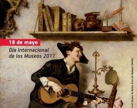 Una representación teatral, entre los actos del Bellas Artes de Badajoz para celebrar el 'Día de los Museos'